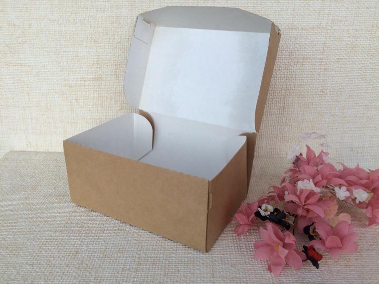 Как сделать крафт коробку 45