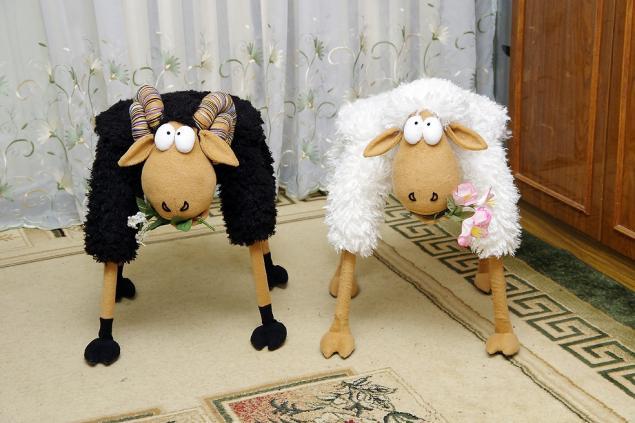 Фото овечка своими руками