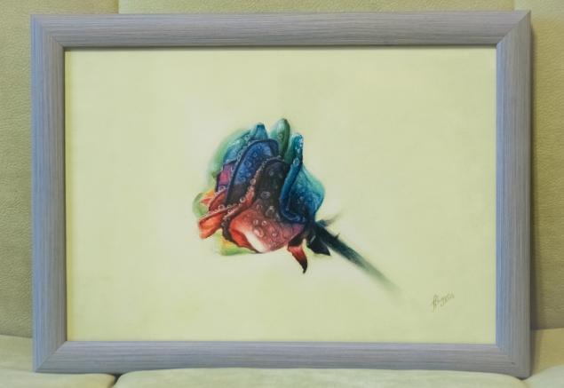 Картина нарисована в подарок
