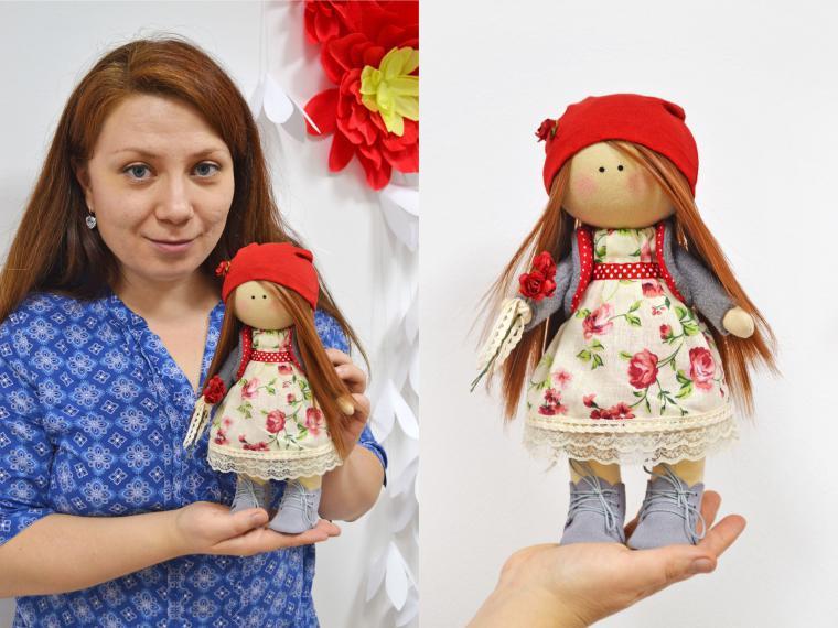 Интерьерные куклы своими руками фото