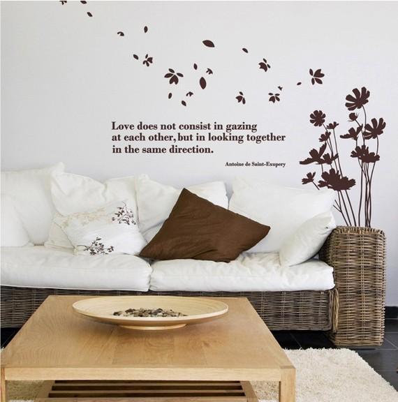 Мысли на виду! (или 60 идей декора стен с помощью слов, букв и цифр), фото № 49