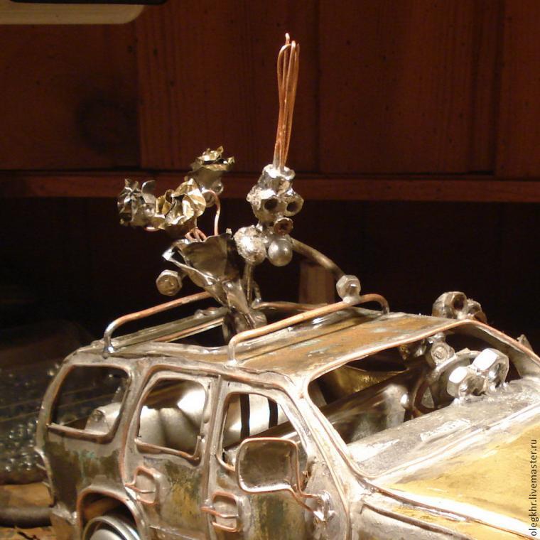 Делаем объемную модель «Шевроле Тахо» с влюбленной парой, фото № 21