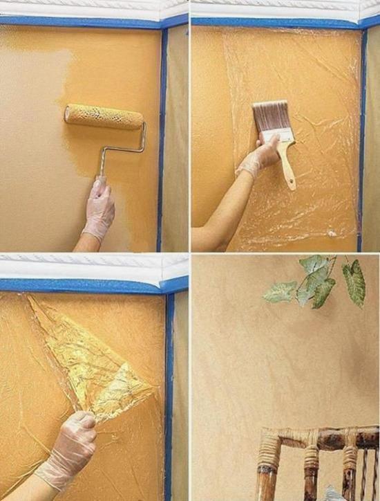 Как покрасить стены в квартире своими руками идеи