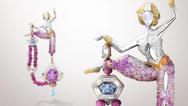 Танец, как источник вдохновения в украшениях Van Cleef & Arpels, фото № 5