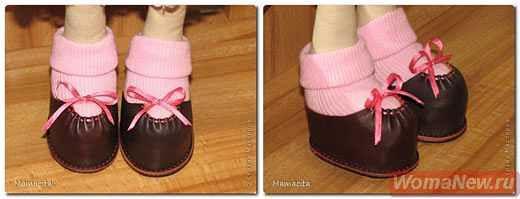 Обувь для куклы большеножки мастер класс
