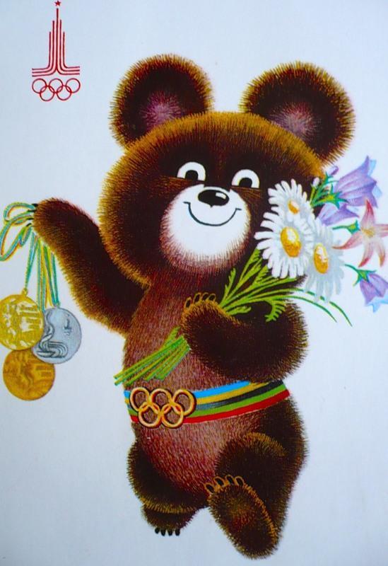 Мишки олимпийские картинки