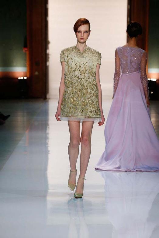 Georges Hobeika Haute Couture весна-лето 2014, фото № 27