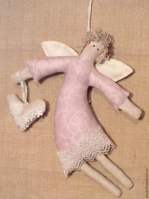 Шьем ангела мастер класс своими руками #4