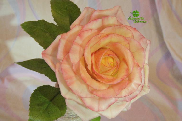 полноразмерная роза, подарок женщине