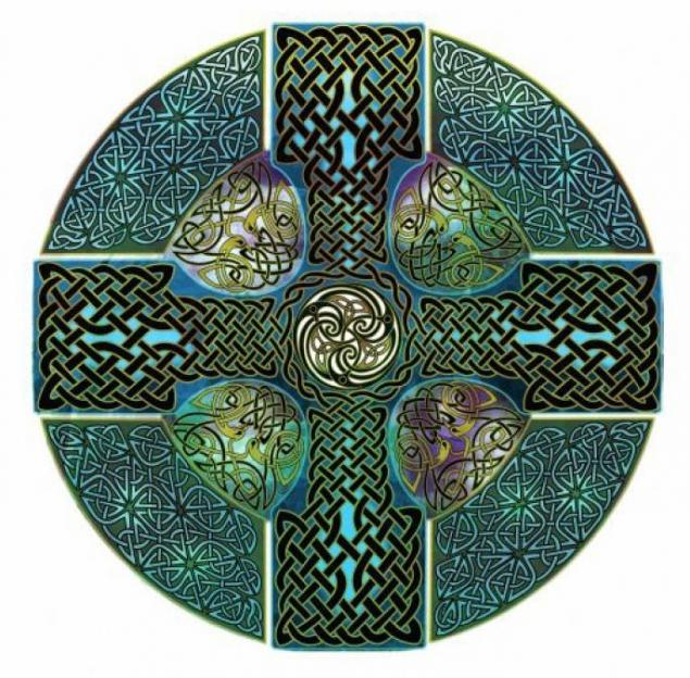 Кельтский крест своими руками