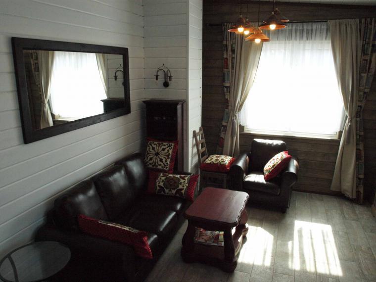 гостиная, светильники в стиле ретро