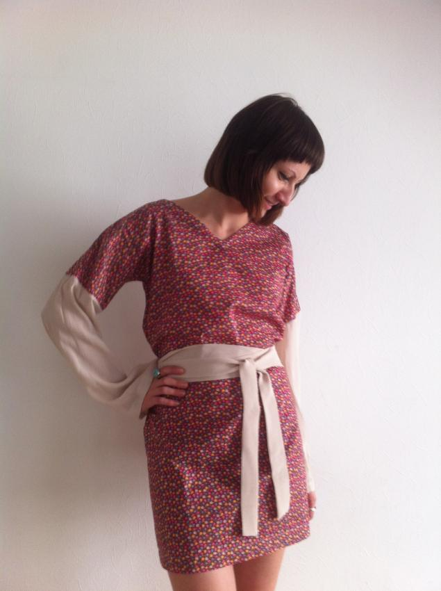 платье, новое платье, мода, платье с рукавом, принт