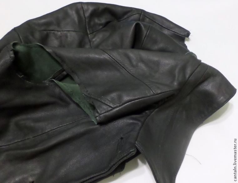 Что можно сшить из старых джинсов, шубы Новые вещи 1