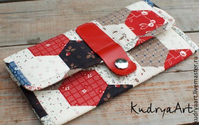 462377327d80 Текстильный кошелек своими руками – мастер-класс для начинающих и ...