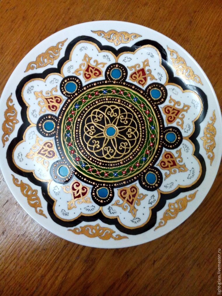 тарелка в подарок