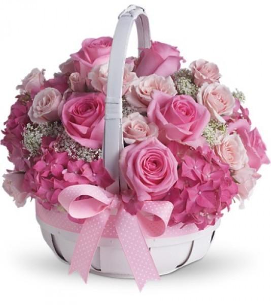 Букет цветов с днем рождения девочке