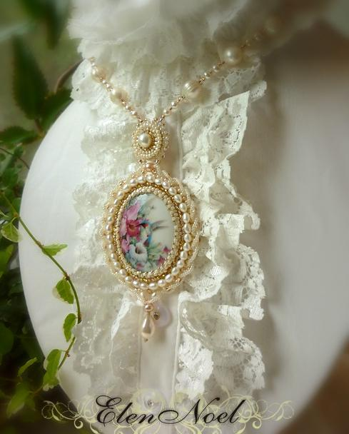 история, камея, жемчужные украшения, позитив, колье, ирина лядова, сказки, сад цветов