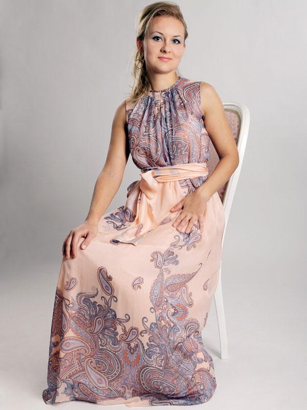 нарядное платье, шелковое платье, платье с принтом, платье на заказ, узор пейсли, вечернее платье