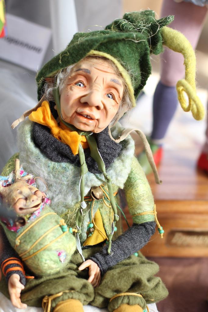Международной выставка авторских кукол и мишек «Панна DOLL'я» в Минске. Часть 1., фото № 15
