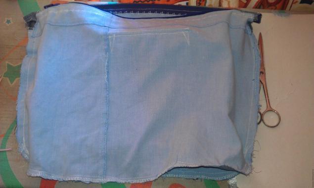 دوختن پوشش در کیسه
