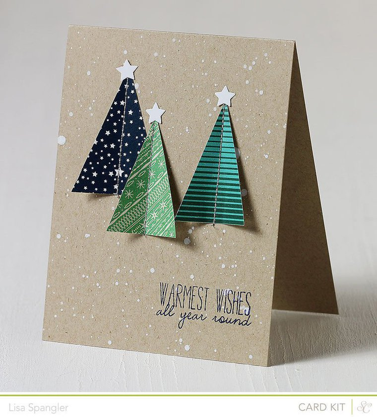 Лучшие открытки на новый год своими руками