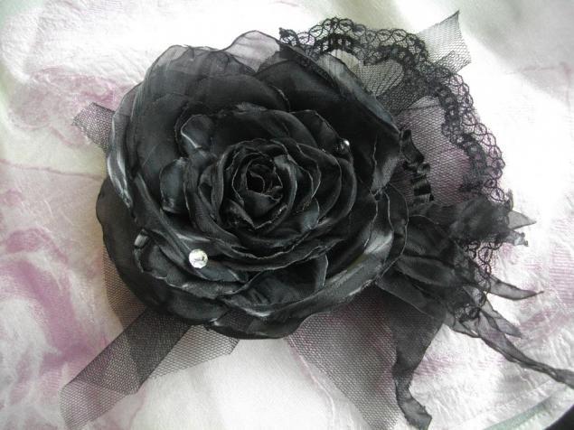 роза из меха