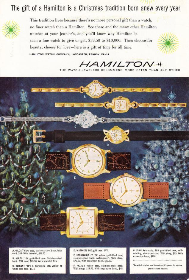 Новогодняя реклама Vintage/1951 -1956 включительно, фото № 47