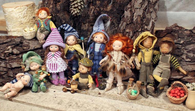 гном, кукла, куколка, миниатюра, юлия моисеенко