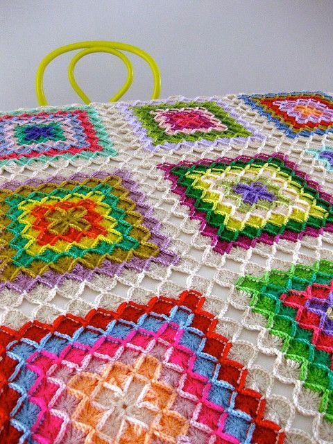 Bavarian crochet