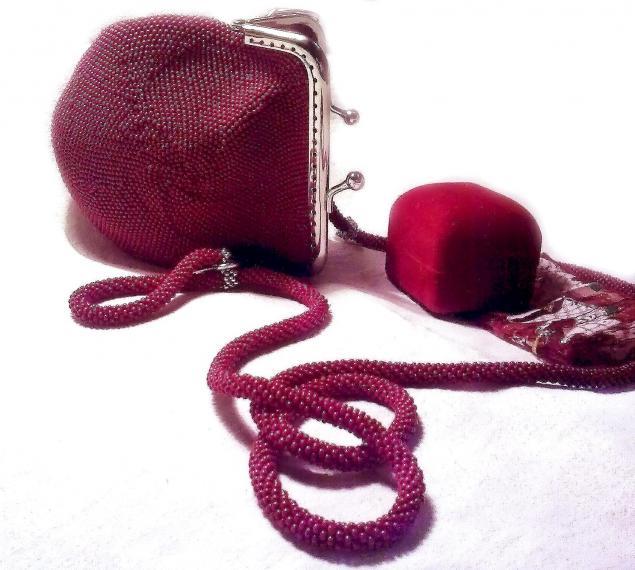 Проданные сумочки из бисера, фото № 5