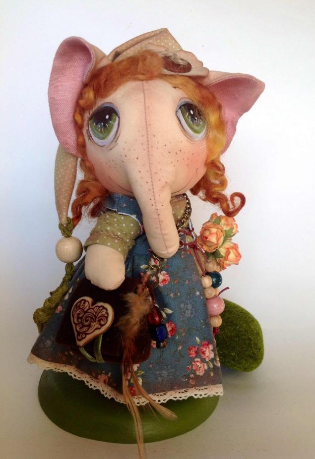авторские куклы, талисман на удачу