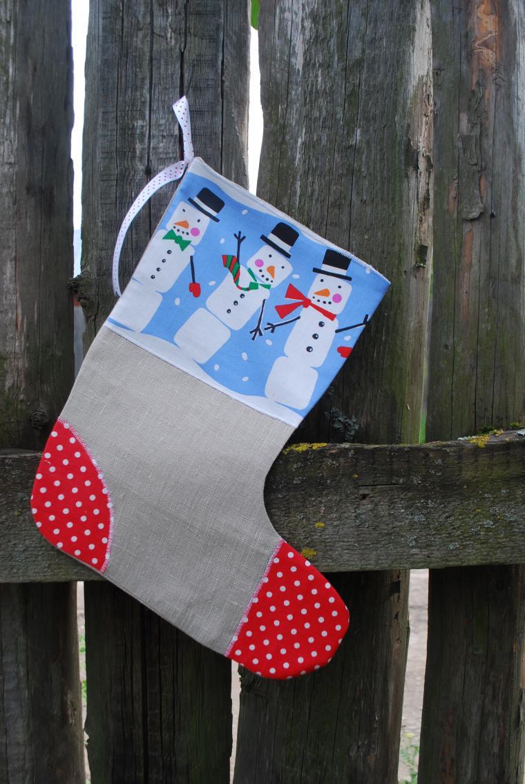 сапожки, упаковка подарка, хлопок, новогодний декор