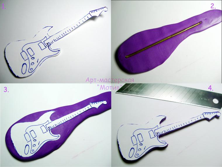 музыка, электрогитара, гитара брелок