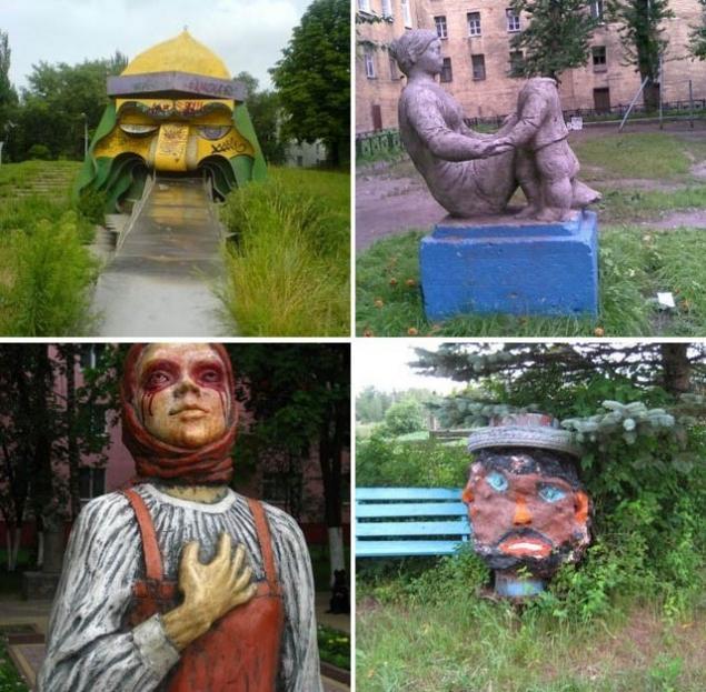 страшные памятники