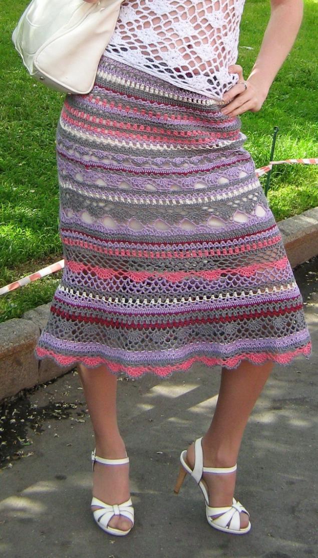 вязаные юбки цена