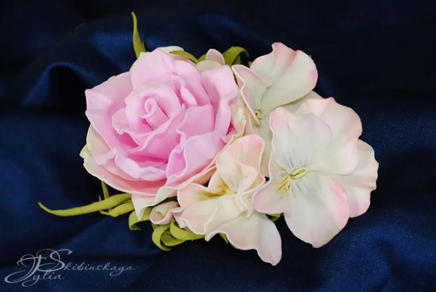 мастер-классы, цветы, фоамиран