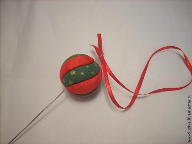 Елочные шары в технике кимекоми, фото № 13
