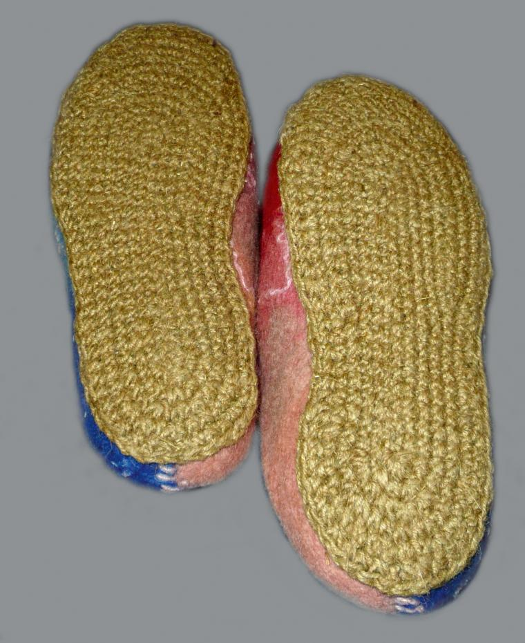 валяная обувь, тапочки, валяние