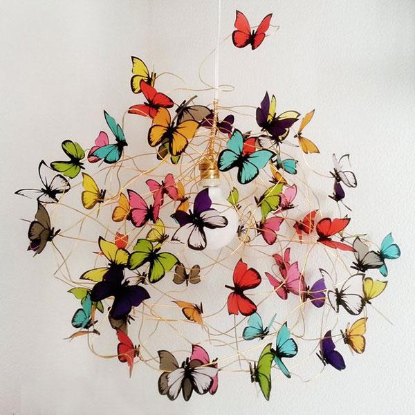 Бабочки как элемент дизайна интерьера, фото № 8