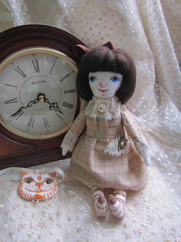 текстильная кукла, фото