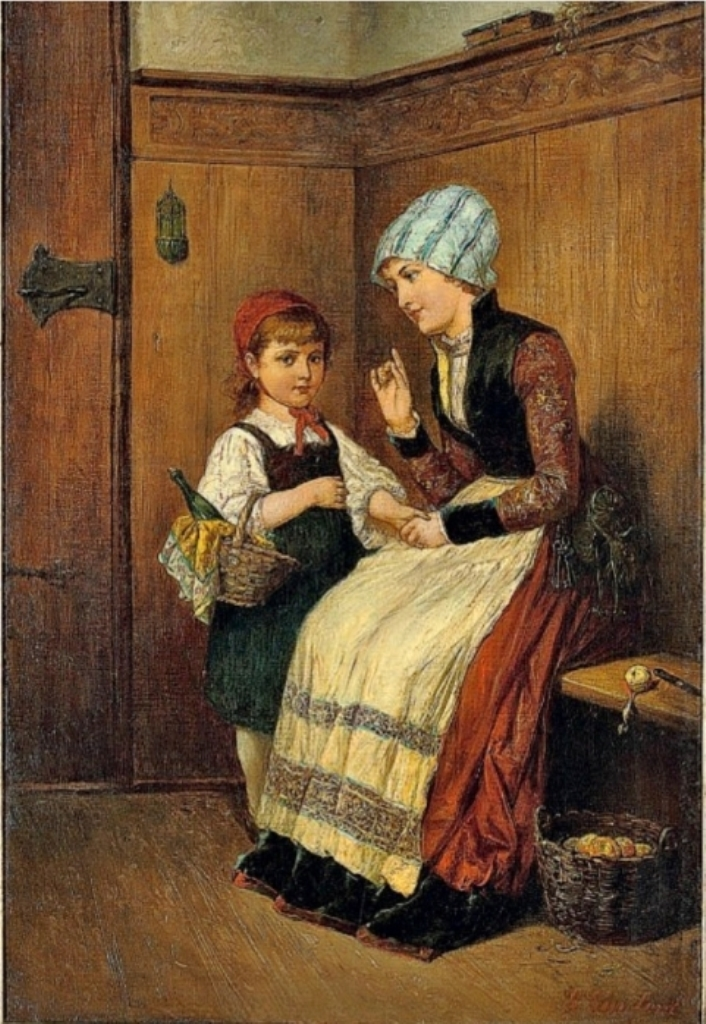 Старая версия красной шапочки фото 522-193