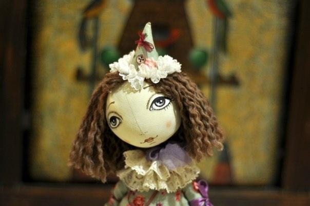 тыквоголовка, грунтованный текстиль, сшить куклу, кукла своими руками, тряпичная кукла, светлана полунина, текстильная кукла