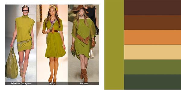 С какими цветами сочетается оливковый цвет в интерьере кухни фото