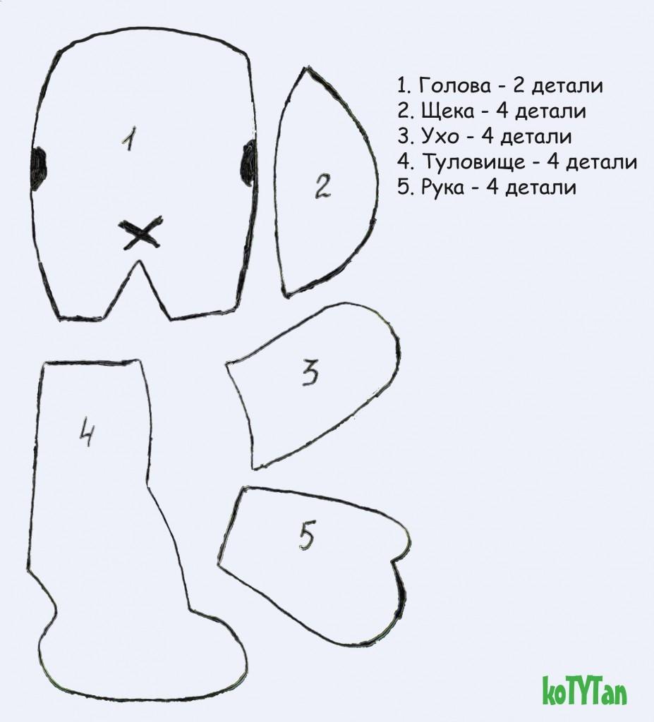 Как сделать куклу на нитках своими руками 13