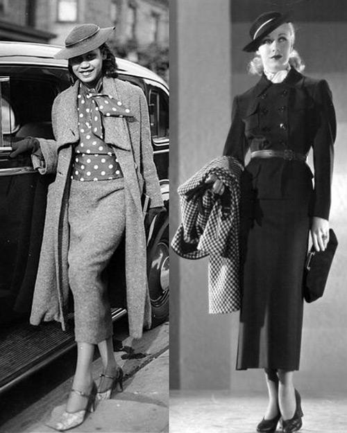 Мода в 20-30-е годы