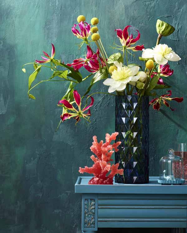 интерьерная композиция, свадебная флористика