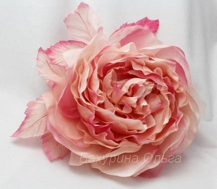 роза, брошь-цветок, цветы из ткани, цветы из шелка, обучение цветоделию, бульки, цветок из ткани, мастер-класс