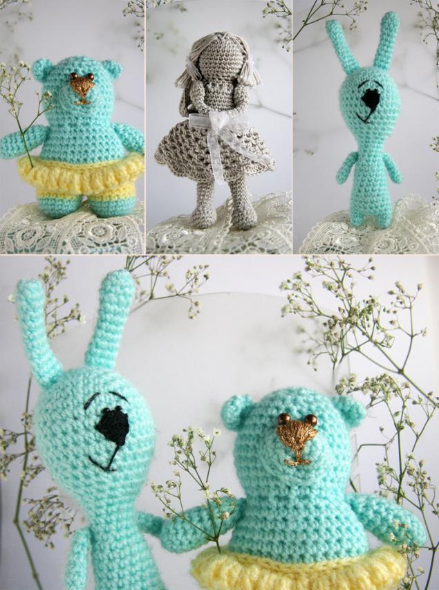 игрушки, заяц, зайка, медвежонок, куколка