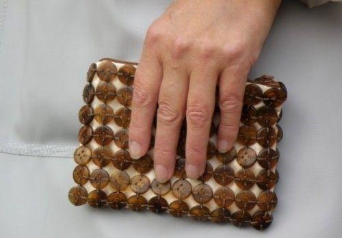 сумки с пуговицами