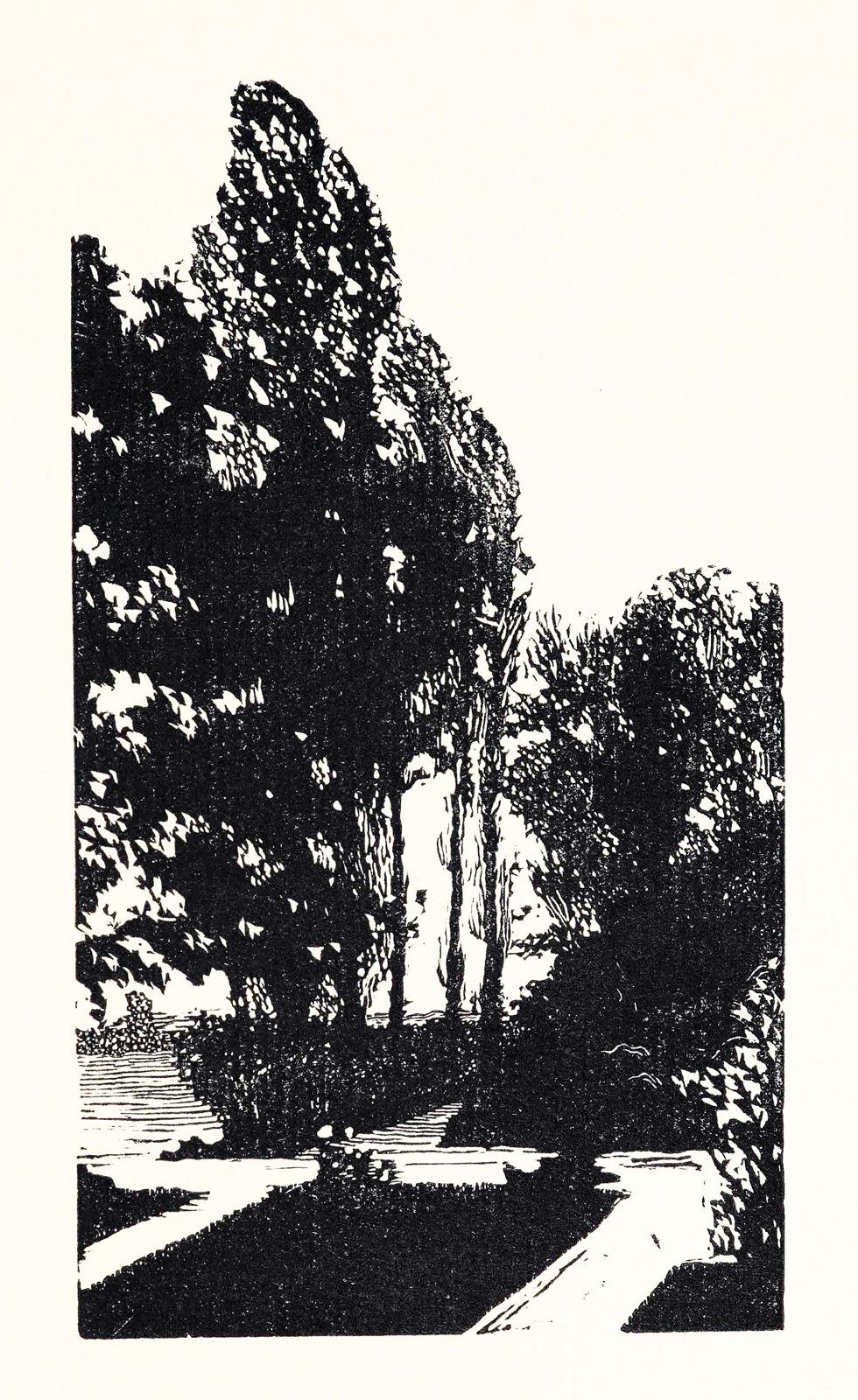 Черно-белая графика знаменитых художников, фото № 38
